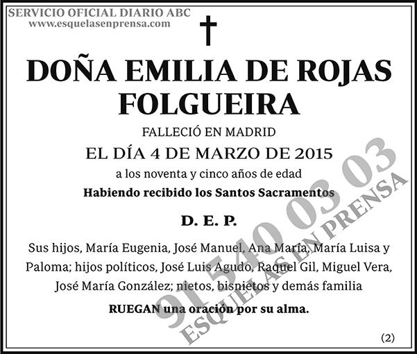Emilia de Rojas Folgueira